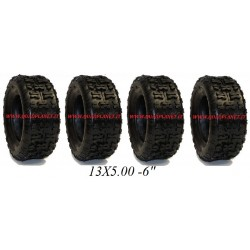 gomme 13x5.00 -6""